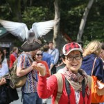 Zen and Meditation in Kamakura_Lady and bird